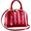 La collezione di borse Rayures Vernis firmata Louis Vuitton