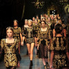 Le atmosfere barocche di Dolce & Gabbana