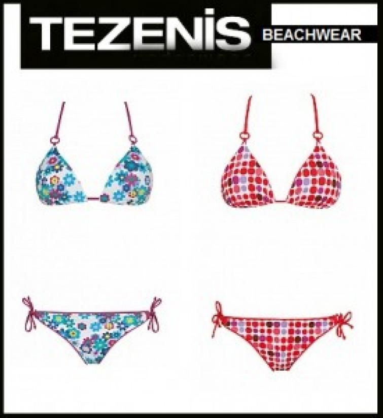 Costumi da bagno Tezenis per un\'estate anni Ottanta - Mitindo