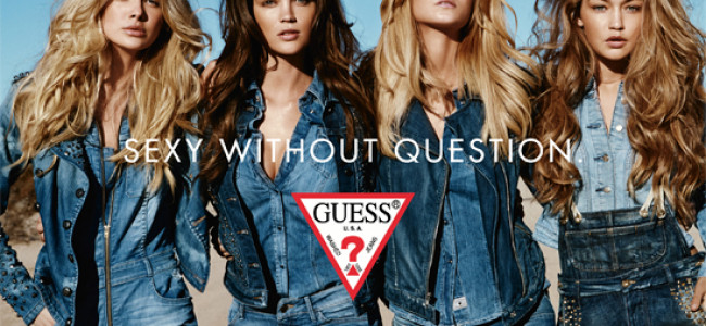 "Guess lancia lo stile ""Sexy without question"" a6ee0c4a86e"