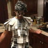 Cinquanta sfumature di grigio, il costume per Halloween [FOTO]