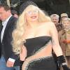 Avvistata Lady Gaga in total look Versace