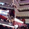 Stress da shopping: si butta dal settimo piano del centro commerciale
