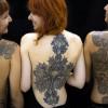 Nuove tendenze: tatuaggio effetto pizzo [FOTO]
