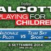 Alcott: trofeo Playing For Children