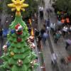 A Sydney il grandissimo albero costruito in lego [FOTO]
