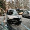 Bruciata l'auto di Francesco Sole: il suo sfogo su Facebook