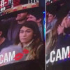 Kiss Cam allo stadio: il fidanzato non la considera, lei bacia un altro [VIDEO]