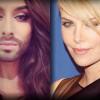 Charlize Theron e Conchita Wurst ospiti al Festival di Sanremo