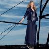 Simona Barbieri tinge di blu la nuova collezione di Twin Set