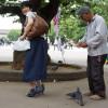 La designer giapponese Kyoto Ohata crea le scarpe a forma di piccione