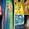 Ursula Goff, la colorist americana che dipinge i capelli come fossero quadri