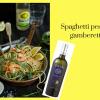 Spaghetti al pesto e gamberetti, la ricetta