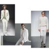 Bianco, il colore protagonista della moda uomo Primavera – Estate 2017