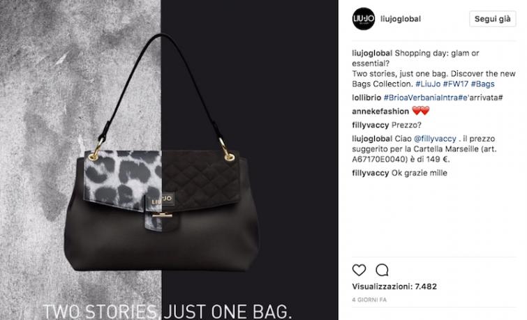 Liu Jo crea la borsa scomponibile b0091a9b4a4