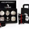 #Belowthebelt, la prima collezione di cinture-gioiello firmate dal designer Pietro Ferrante