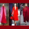 L'autunno – inverno 2017/2018 sarà in rosso!