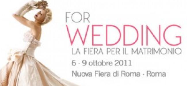 For Wedding: Roma si tinge di bianco