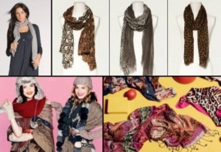 Le sciarpe moda dell'inverno