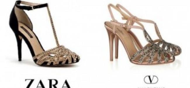Zara si ispira alle grandi griffes