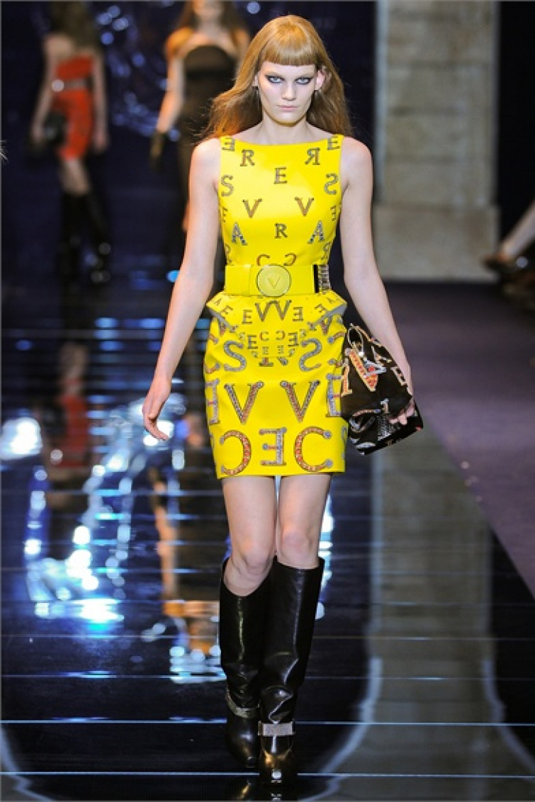 Rock 'n' roll sulle passerelle Versace