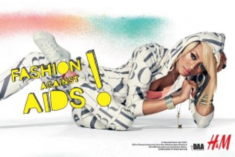 H&M sostiene la lotta contro l'AIDS con una nuova collezione