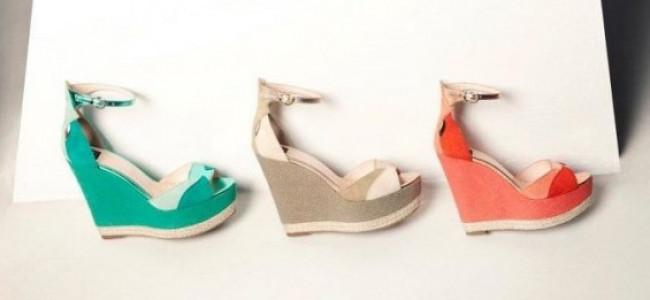 La coloratissima collezione scarpe Islo