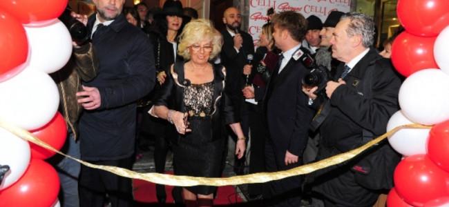Roma: tanti vip all'inaugurazione del nuovo atelier di abiti da sposa di  Maria, Alessia e Giampaolo Celli