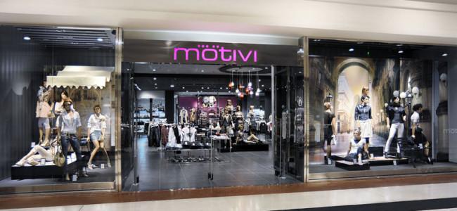 Motivi rinnova il look ai suoi negozi