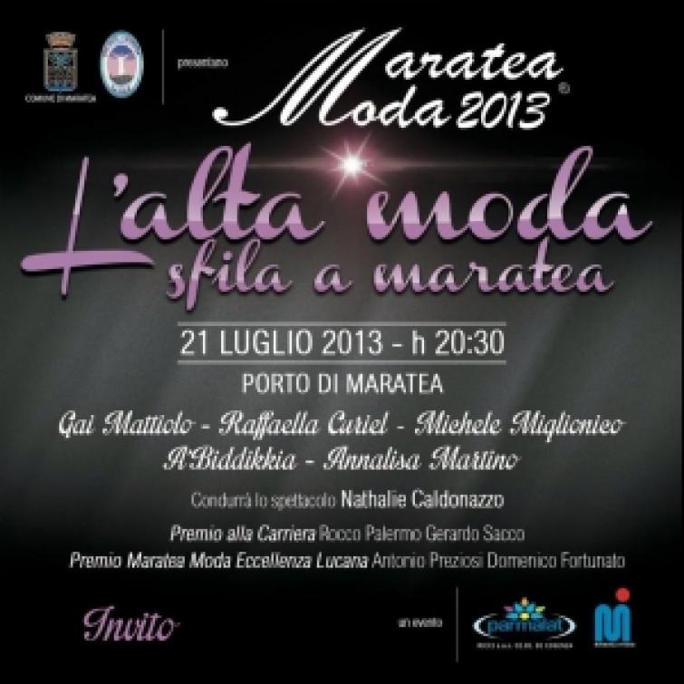 Maratea Moda 2013: l'alta moda sfila a Maratea