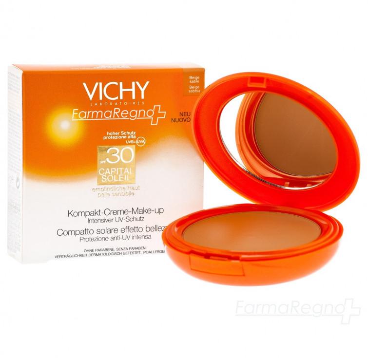 Capital Soleil di Vichy, il make up che protegge dal sole