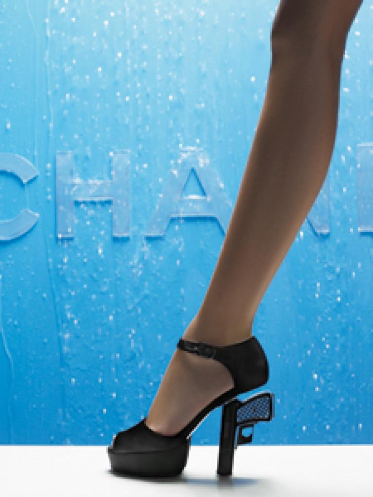 Le scarpe-pistola di Chanel