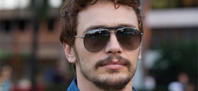 James Franco testimonial dei nuovi occhiali da sole Gucci