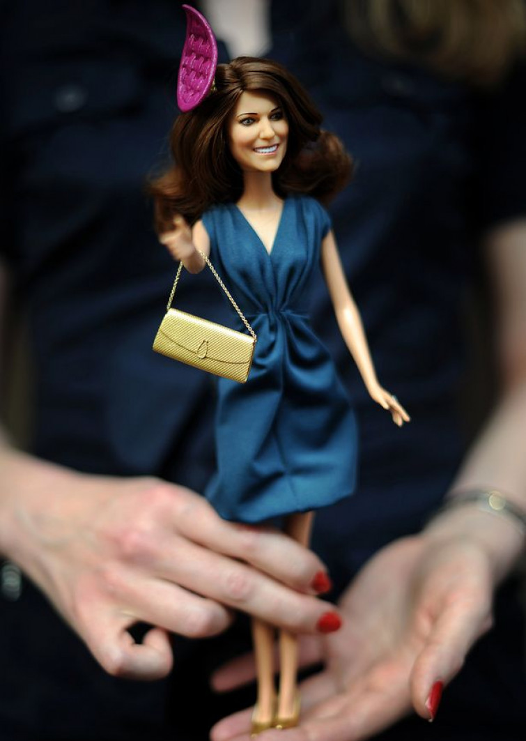 Ecco la barbie di Kate Middleton