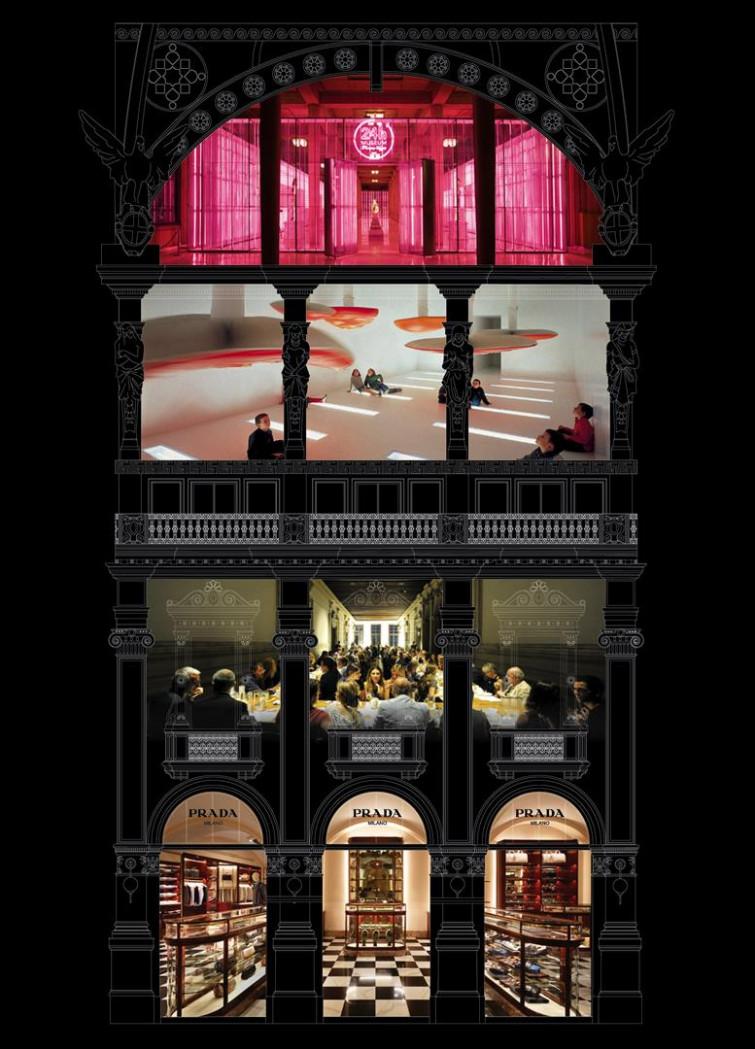 """A Milano la """"Prada Galleria"""""""