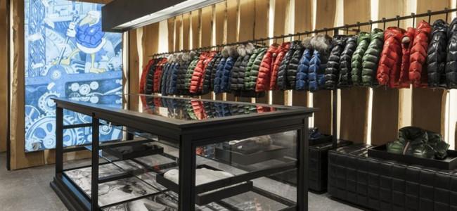 Moncler apre la prima boutique bimbi a Courmayeur