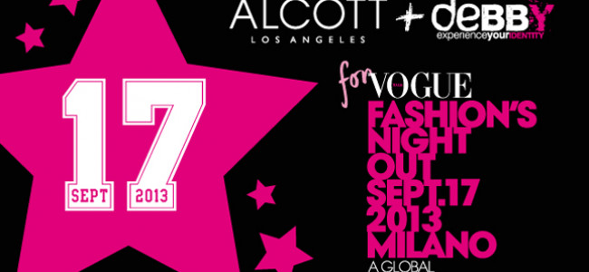 Alcott e Alcott L.A. protagonisti della Vogue Fashion's Night Out 2013