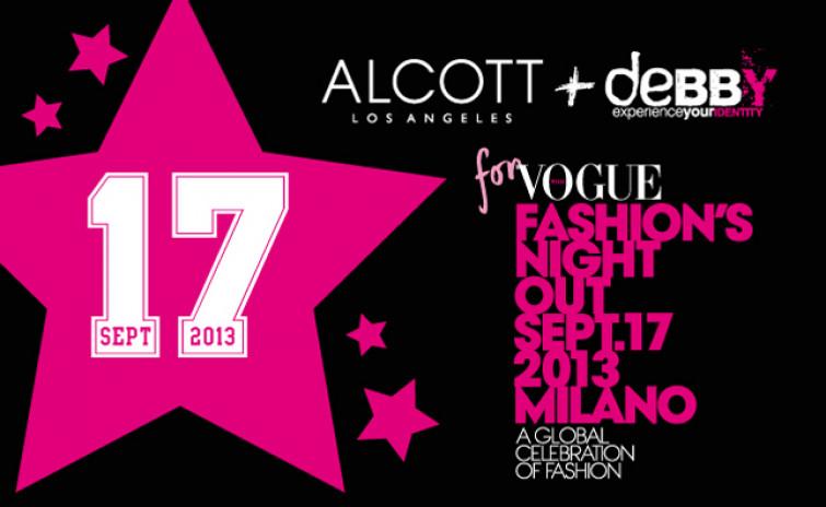 Alcott e Alcott L.A. protagonisti della Vogue Fashion's Night Out 2013