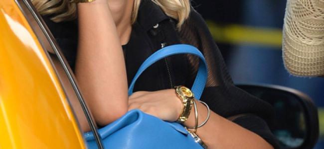 Rita Ora testimonial per DKNY collezione Resort 2014