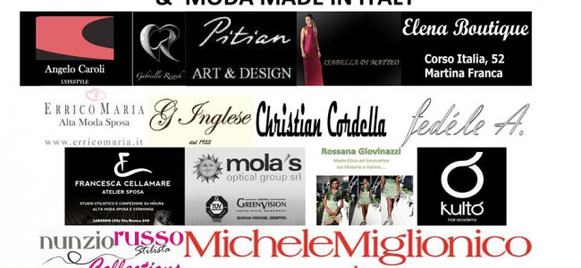 Michele Miglionico al Cisternino &' Moda 2013