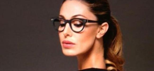 Belen Rodriguez testimonial per Cesare Paciotti eyewear
