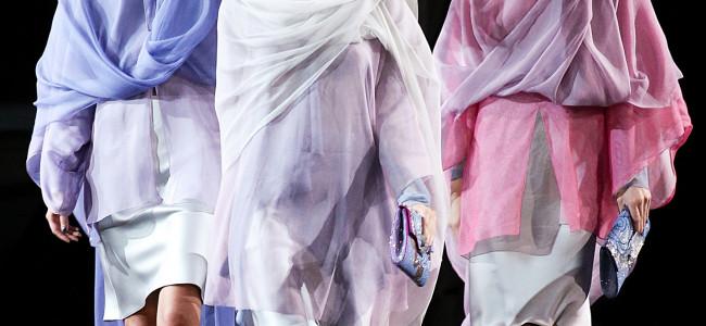 Giorgio Armani: collezione primavera estate 2014 donna