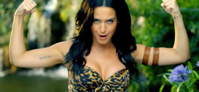 """Katy Perry trucca gli animali nel video """"Roar"""""""