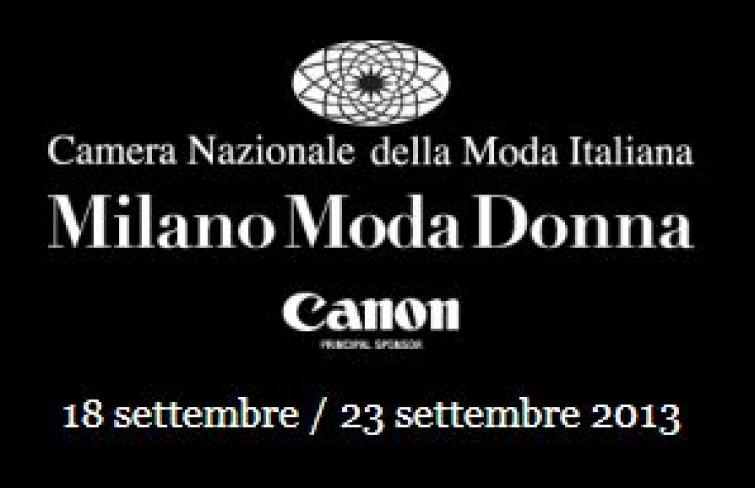 Milano Moda Donna 18-23 settembre 2013: calendario sfilate