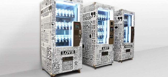 Direttamente da Taiwan, il distributore di messaggi in bottiglia!