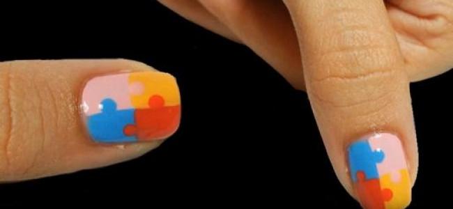 Nail Art: Puzzle tutorial (VIDEO)