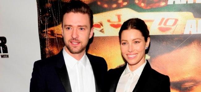 Jessica Biel e Justin Timberlake indossano lo stesso completo sul red carpet (FOTO)