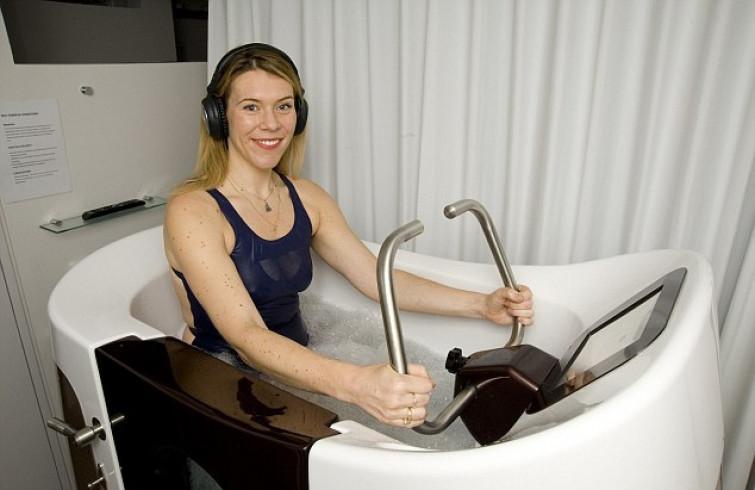 Hydrofit: eliminare la cellulite pedalando dentro una vasca