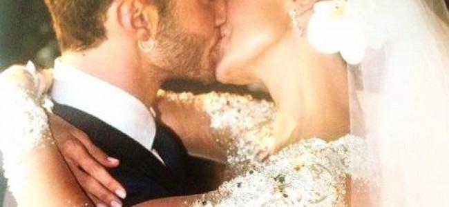 Tutte le bellissime foto del matrimonio di Belen e Stefano