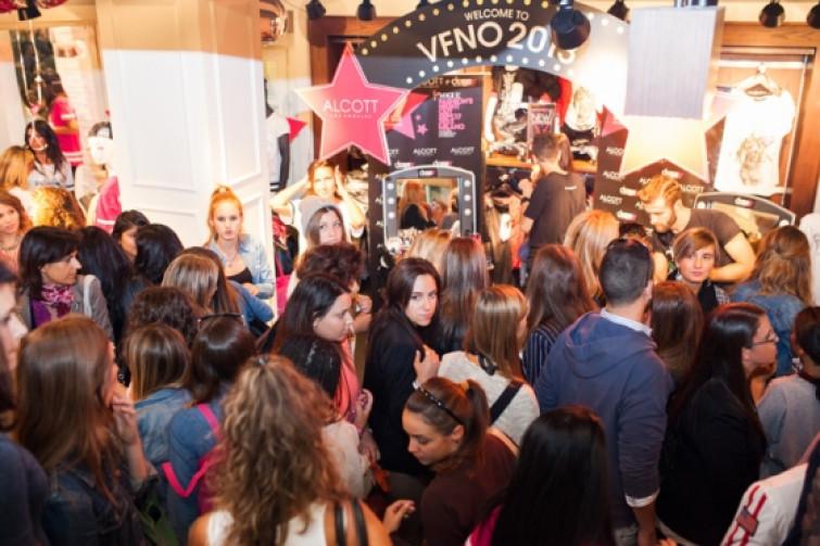 Alcott e deBBY protagoniste assolute della Vogue Fashion's Night Out 2013